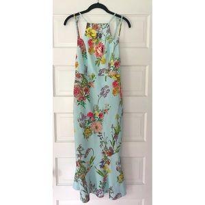 ASOS Midi Floral Bodycon Dress